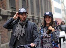 Milano, Riccardo Montolivo con moglie Cristina De Pin e figlia Mariam