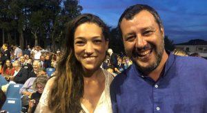 Matteo Salvini e Francesca Verdini a Forte dei Marmi: tutti