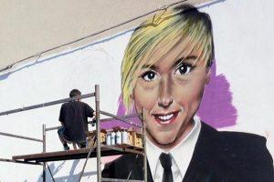 Nadia Toffa, il murale in suo ricordo. Fan su Facebook: «Un