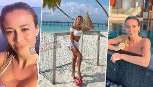 Diletta Leotta in vacanza alle Maldive con King Toretto