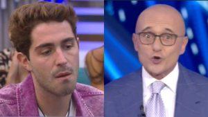 Grande Fratello Vip, Tommaso Zorzi contro Alfonso Signorini: volano insulti