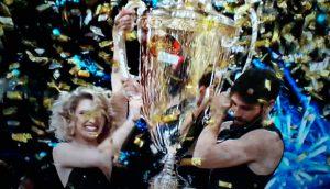 Gilles Rocca e Lucrezia Lando sono i vincitori di Ballando con le Stelle  Paolo Conticini e Veera Kinnunen secondi classificati