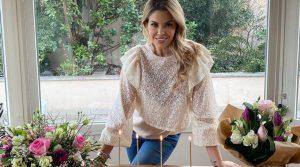Costanza Caracciolo fa 31 anni, compleanno in casa con le bimbe